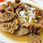 みなと食堂 - 料理写真:#もつ定食(#馬肉