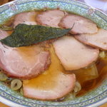 手打中華 たいち - チャーシューワンタン麺
