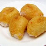 八木橋菓子餅店 - おいなりさん。ずっしりしています