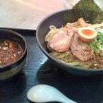 くにがみ屋 - スペシャルつけ麺(魚だし)大盛