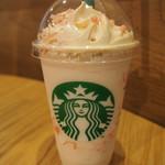 スターバックス・コーヒー - さくらブロッサムクリームフラペチーノwithクリスピースワール