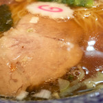 くじら軒 - スープとチャーシュー
