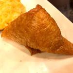 丸亀製麺 - 大きなお稲荷さん
