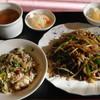 香港中華飲茶 朝廷 - 料理写真:Bランチチャーハンチンジャオロースセット