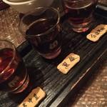 黒猫夜 - 紹興酒飲み比べ Part 1