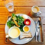 ムロマチカフェハチ - スーププレート