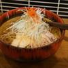 山形蕎麦と炙りの焔蔵 - 料理写真:冷たい肉蕎麦