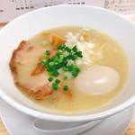 麺蔵あつお - 濃厚鶏塩+味玉