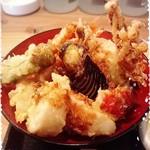 ろばた 旬菜 ねぶ家 - ランチ 天丼