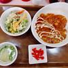 電気舘カレー - 料理写真:ビーフカレーセット