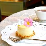 アニバーサリー - ラベンダーはちみつのムースケーキ