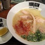 らあめん 元 - 比内鶏の鶏白湯