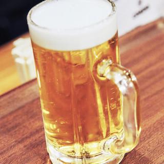 【生ビール】美味しいお料理にはやっぱりこれ!