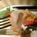 グリル&ダイニング マンハッタンテーブル - [料理] 帆立貝 (マリネ) アップ♪w