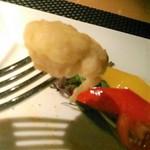 グリル&ダイニング マンハッタンテーブル - [料理] 鱈 白子のフリット アップ♪w