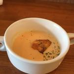 ココロニカフェ - 大人様ランチのスープ