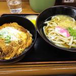 さぬき一番 - 料理写真:カツ丼セット
