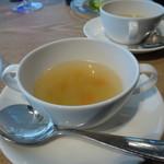 熟成肉専門 但馬屋 - ショウガ風味の野菜スープ