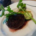 熟成肉専門 但馬屋 - 熟成肉100%プレミアムハンバーグ 180g