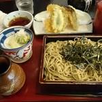 水府そば 大和屋 - 料理写真:天ざる 900円 安すぎ~。