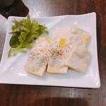 豆腐のゴルゴンゾーラあえ