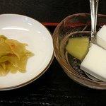 好味苑 - 好味苑 @本蓮沼 日替わりランチ Aセットに付く搾菜と杏仁豆腐