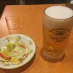 サイゼリヤ - 生ビール 399円、白菜のミックスピクルス 199円♪