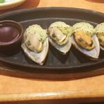 サイゼリヤ - ムール貝のガーリック焼き 399円♪