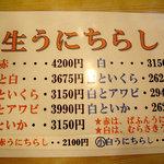 630158 - メニュー:2008年7月_新家寿司
