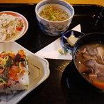 緑の里 - 料理写真:岩国寿司セット