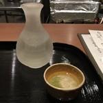 手打ち十割そば 振甫町 縁 - 山崎醸し特別純米酒