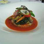 63000506 - 季節野菜のナヴァラン仕立て クスクスとキヌア