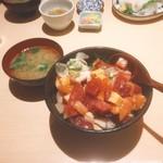 63001563 - 山正丼 限定㉕食(950円)【平成29年2月23日撮影】