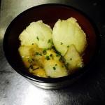 漁平の鍋 - 揚げ出しギョ豆腐