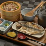 ◆鯵のまご茶膳…1,950円
