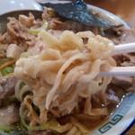 ケンチャンラーメン - 麺