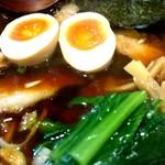 63006898 - 特醤油チャーシュー麺(薄口)