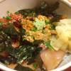 神田 新八 - 料理写真:寒ブリと鮪脳天とウニ丼