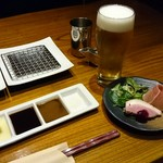 串柾 - オシャレな前菜からスタート
