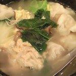 6301161 - 季節野菜のスープ水餃子 1000円