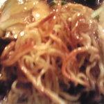 龍王門 - カリカリ麺
