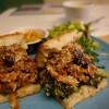 トレエウーノ サンドイッチ - 料理写真:(2017/1月)「ミートローフの煮込と菜の花サンドイッチ」
