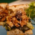 トレエウーノ サンドイッチ - (2017/1月)「ミートローフの煮込と菜の花サンドイッチ」
