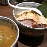 麺屋武蔵 神山 - 濃厚神山つけ麺(大盛り)@1180円