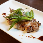 カーサ フォルトゥーナ - 料理写真:山の恵みプランツォ (¥1,970) ポーク肩ロースのステーキ