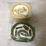 山栄堂 - 料理写真:栗ロール、志ぐれロール
