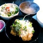 バルルキッチン - 料理写真:チキン南蛮on自家製タルタルソース