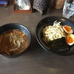 Ogikuborameneiryuuken - 170222つけ麺800円+味付けたまご100円