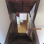 普段着きものカフェ サダ子さん - 階段