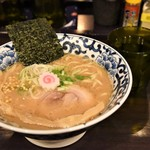 東京駅 斑鳩 - 豚骨魚介ラーメン
